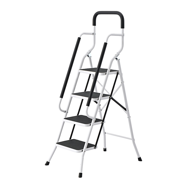 SM-TT6044A Customized Heavy-duty Four Storied Ladder With Detachable Handrail Stable Master